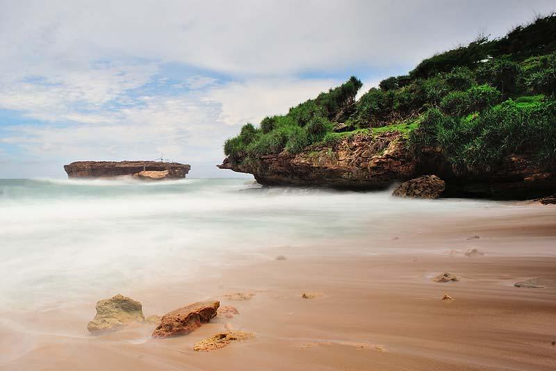 Harga Tiket Masuk Timang Beach Jogja