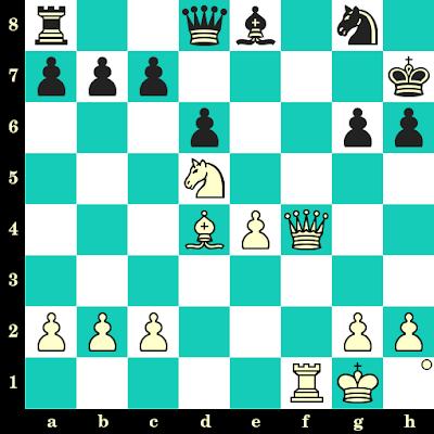 Les Blancs jouent et matent en 2 coups - Milan Matulovic vs Asfary, Skopje, 1972