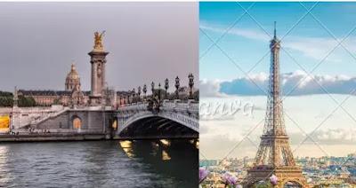 مدينه باريس وموقعها وعدد سكانها