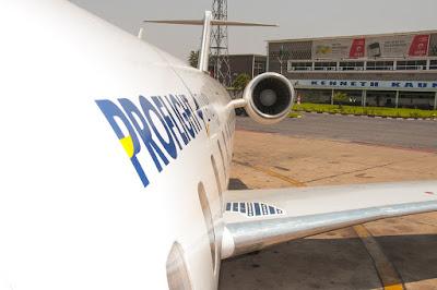 Proflight Zambia, Zambia, aviation, flights, Africa