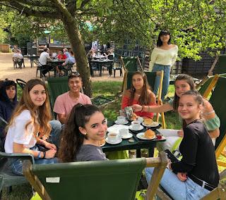 Tea time en Grantchester