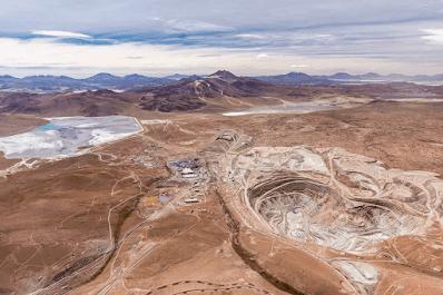 Producción récord impulsa con fuerza las utilidades y el pago de impuestos de Minera Collahuasi