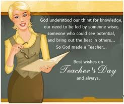 Happy Birthday Wishes For teacher: God understood our thirst for knowledge,
