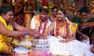 wedding rituals of Gopichand And Reshma