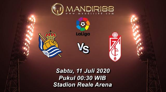 Prediksi Real Sociedad Vs Granada, Sabtu 11 Juli 2020 Pukul 00.30 WIB