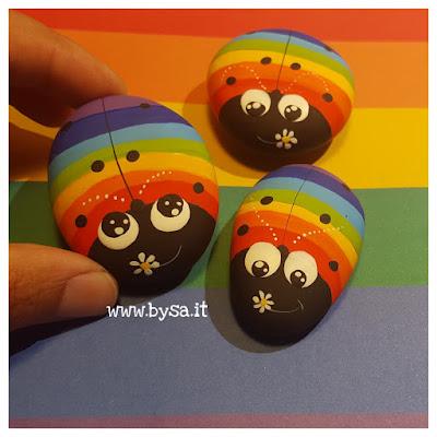 Bomboniere arcobaleno famiglie