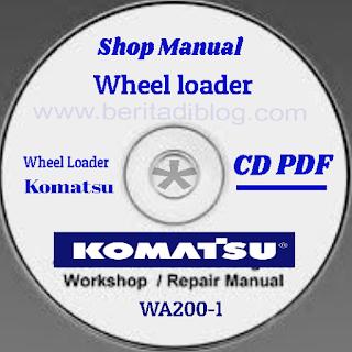 Wheel loader WA200-1 komatsu