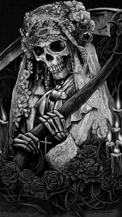 Algumas Diferencas Entre Santa Muerte E La Catrina Sombriamente