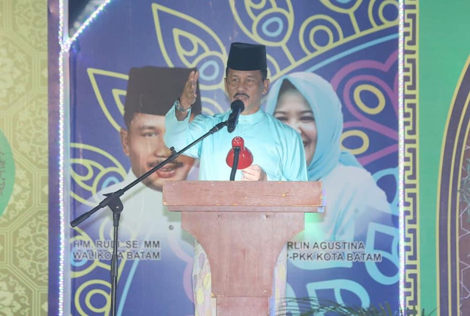 Walikota Batam Hadiri Pembukaan STQ Sei Beduk