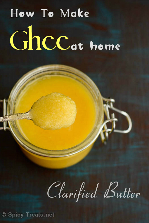 Homemade Ghee(Clarified Butter)