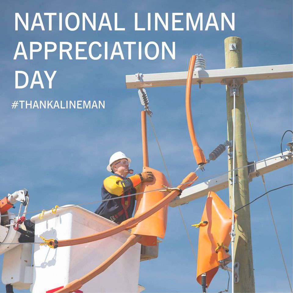 National Lineman Appreciation Day Wishes Beautiful Image