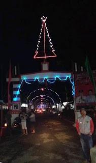 Warga Tombatu Timur     Antusias Sambut Natal Yesus Kristus