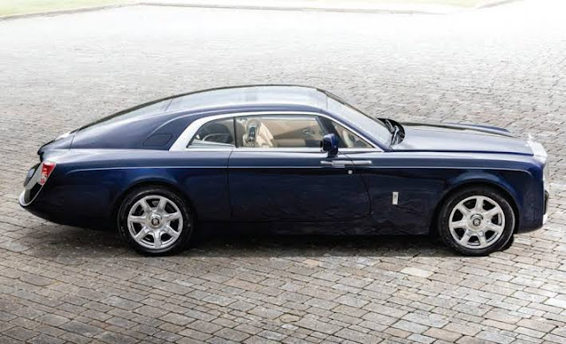 Most Expensive Cars - Rolls Royce Sweeptail