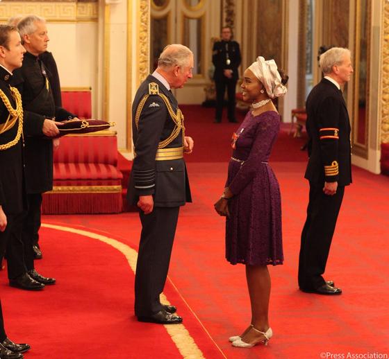 Olufunke-Abimbola-Akindolie-awarded-MBE