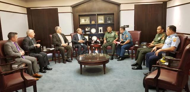 Kasum TNI : Kerja Sama Militer Jadi Fokus Dalam Tingkatkan Hubungan Diplomatik RI-AS
