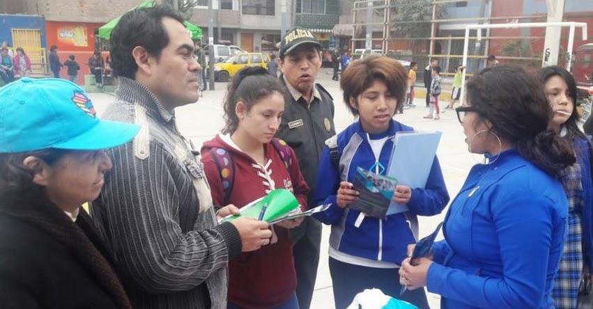 MININTER presenta beca Doble Oportunidad a vecinos de la Huerta Perdida en Barrios Altos - www.mininter.gob.pe