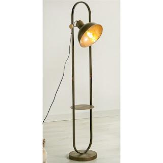 lampara de pie para el salon clasico