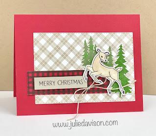 SAB Spotlight: 14 Peaceful Prints Designer Paper Projects + Stampin' Up! Peaceful Deer ~ www.juliedavison.com #stampinup