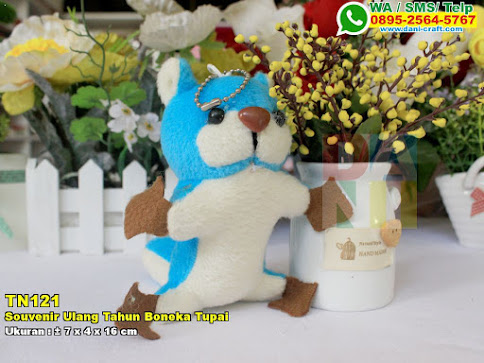 Souvenir Ulang Tahun Boneka Tupai