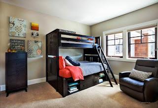 Desain Kamar Anak Laki-Laki Simpel dan Sederhana