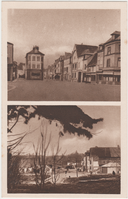 Rue Saint Pierre de Neufchâtel détruite