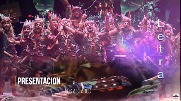 """🌴🌴Presentación con Letra Comparsa """"Los Aislados""""🌴🌴 (2020)"""