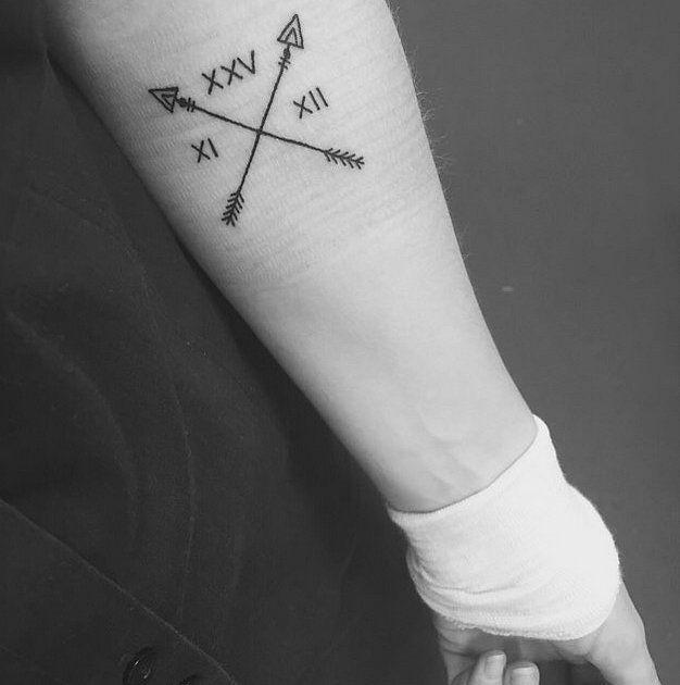 1995 Tattoo Design: 260+ Best Roman Numeral Tattoos (2019) Font Styles