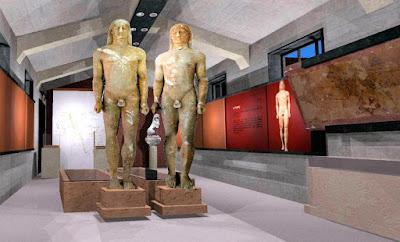 Οι δίδυμοι Κούροι ανοίγουν το μουσείο