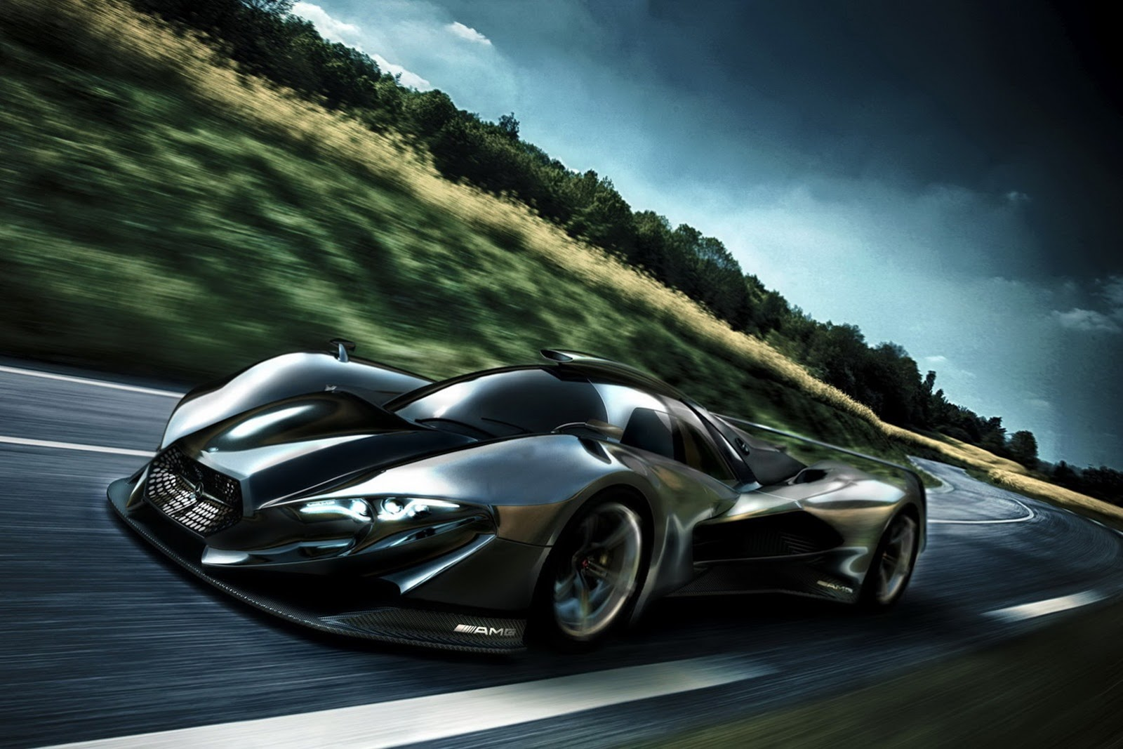 Mercedes Close To Greenlighting New Mid-Engined Supercar ...