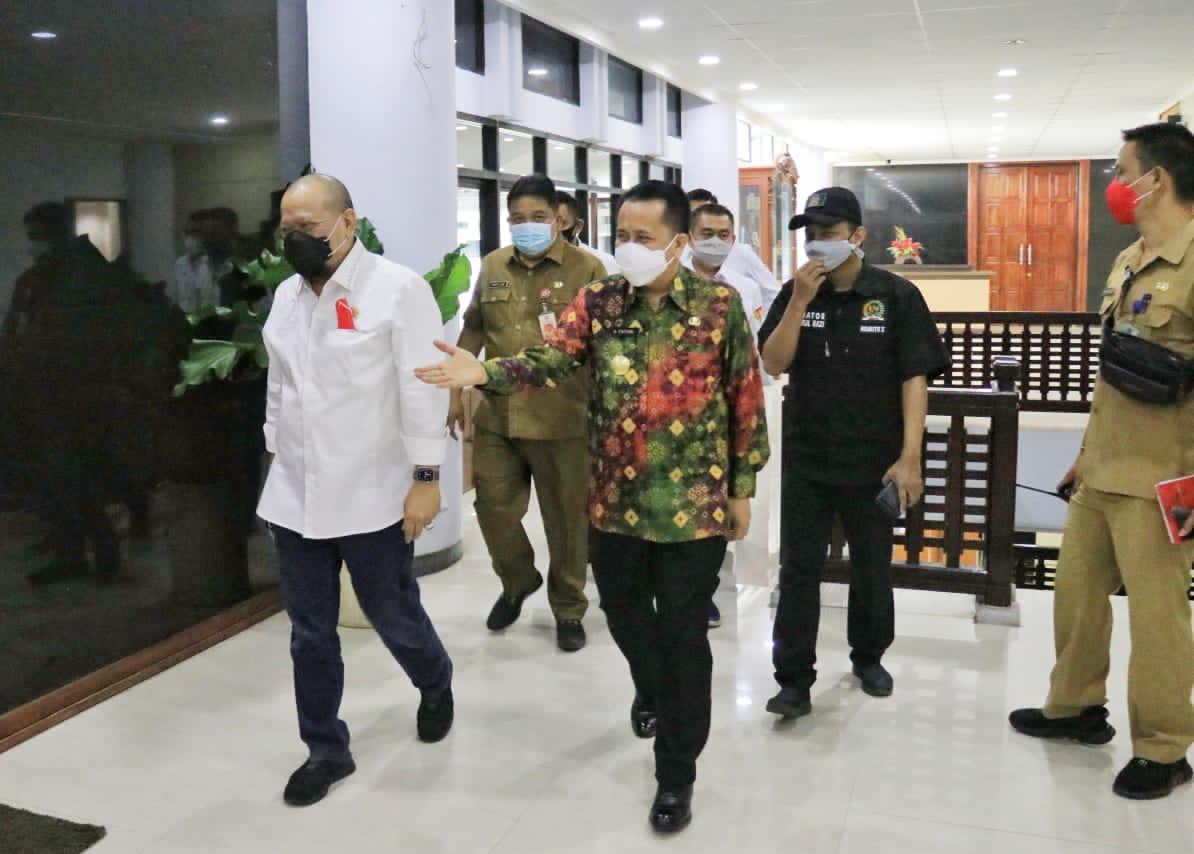 LaNyalla Dukung Gerakan Sulut Bermasker dan Minta Senator Bantu Pemprov Sosialisasi Prokes Covid 19