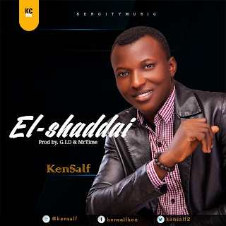 Kensalf is a contemporary gospel recording artists, live performing artiste and a choral director with an angelic voice in praising God and uniting the world with the message of love. El-shaddai is a song of proclamation of the true king and Savior of the world Jesus Christ.