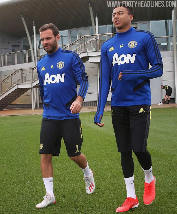 finest selection 59f3d e7be7 Manchester United 19-20 Training Kit Released - Footy Headlines