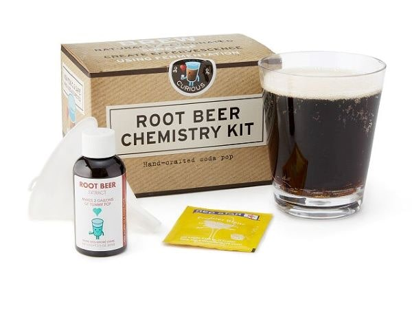 Rootbeer science kit to make naturally fermented rootbeer
