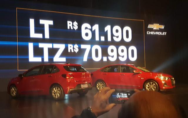 Novo Chevrolet Onix Hatch 2020: primeira foto oficial divulgada