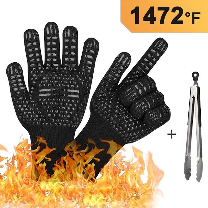 50%OFF  BBQ Grill Gloves 3-Piece Sets Till July 31st