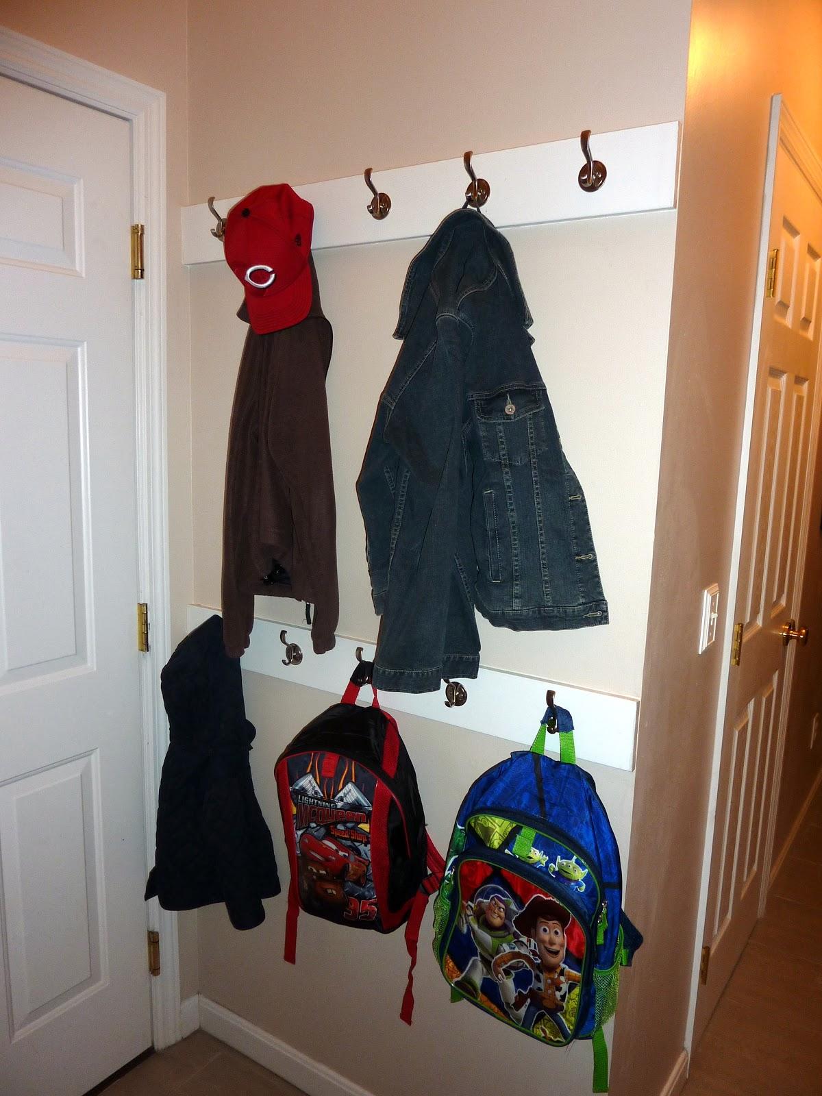 Diary Of Regular Moms Space Saving Coat Storage