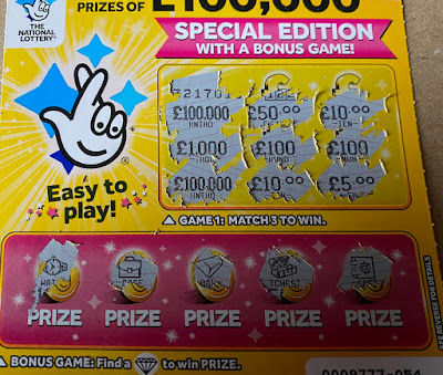 £1 Yellow Scratchie
