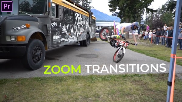 Zoom Transitions Presets - Premiere Pro Presets | Motionarry