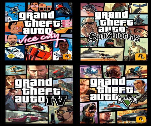 اصدارات لعبة جاتا حرامى السيارات