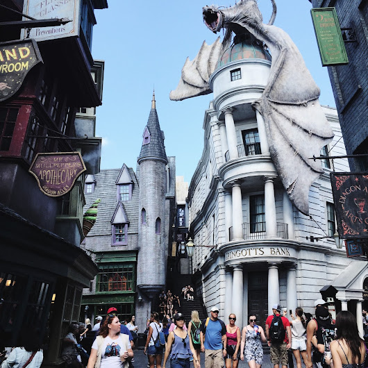 Travel // 10 Things to do at The Wizarding World of Harry Potter