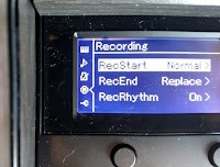 Recording function in LCD screen