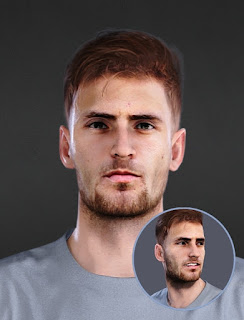 PES 2021 Faces Matteo Gabbia by Epic Faces