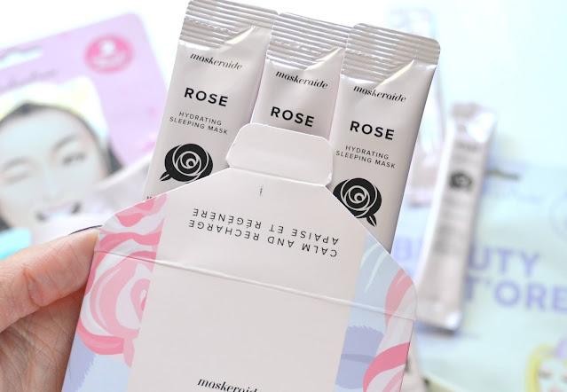 MaskerAide Rosy Dreams Hydrating Sleeping Mask