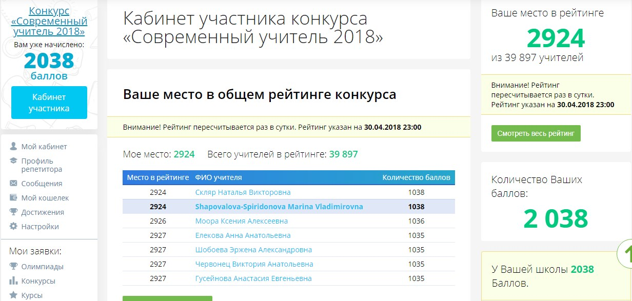 Infourok ru конкурс экономим 24