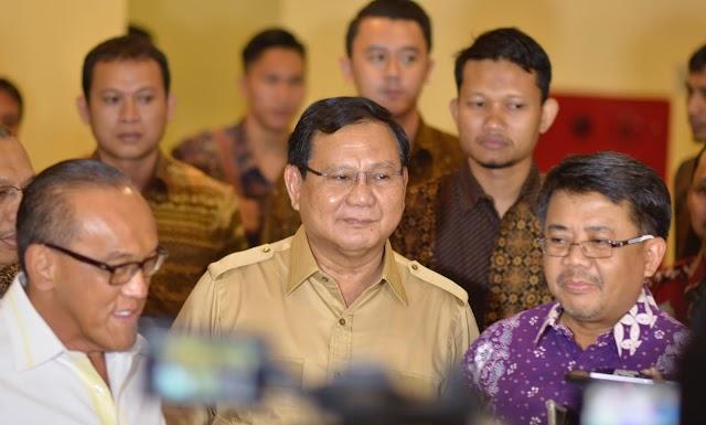 Prabowo: Semoga PKS Selalu Diridhai Allah SWT