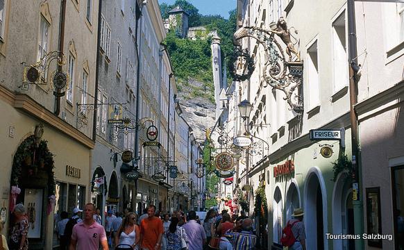 Getreidegasse (Salzburgo, Austria)