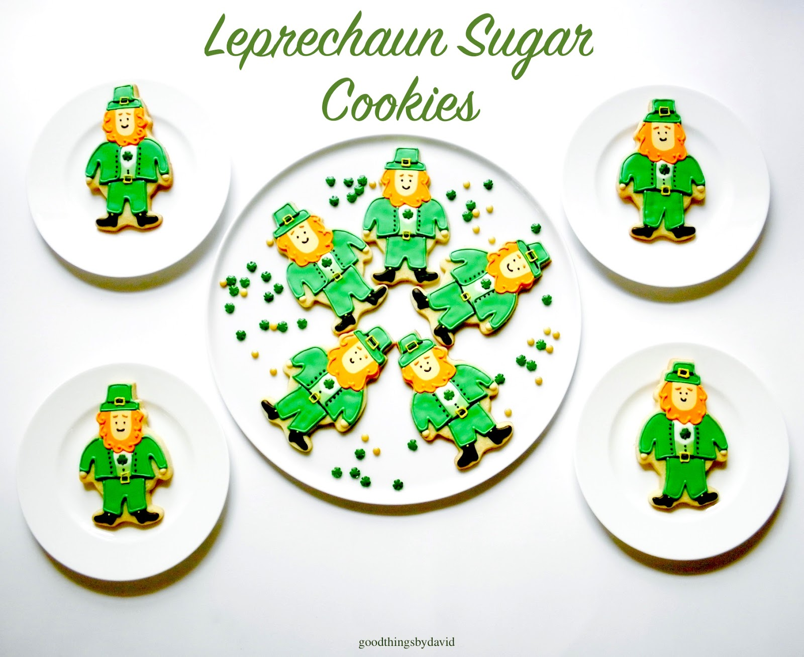 Good Things by David: Leprechaun Sugar Cookies