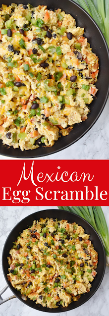 Mexican Bell Pepper Egg Scramble