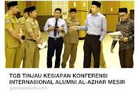 """""""Tolong Tinjau Juga Persiapan Arena MTQ tingkat Provinsi Tuan Guru"""""""