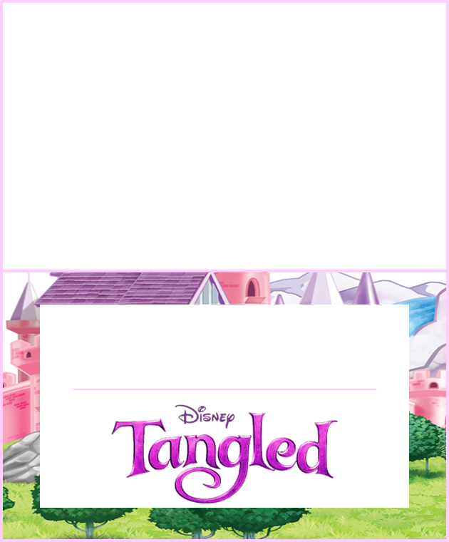 Tangled Party Free Printable Invitations, Labels or Cards.